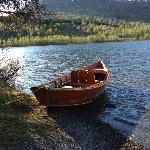 Boat In Summit Lake