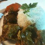 Lamb curry $9