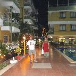 Inside the Resort premises