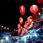 china town at night