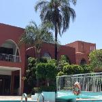 Pool und Urlaubsflair