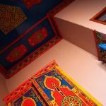 Pięknie pomalowane meble i sufit