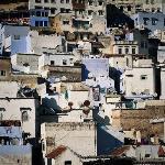 Widok z tarasu na miasto
