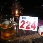 Numero del tavolo