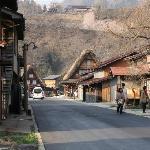 Main street through Ogimachi.