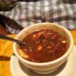 Chipotle steak soup