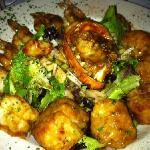 lobster , shrimp scallop & salad