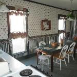 Kitchen/Breakfast room at the Ivy