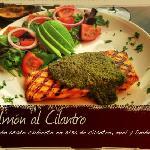 Salmon al Cilantro