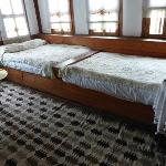 Our unusual bedroom format