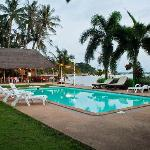 Pool side restaurant makes it a perfect location for dinning only at Uncle Rang Restaurant