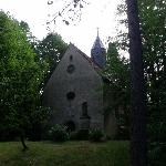 church on the property - get the key and check it out!