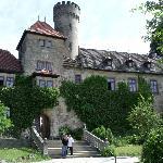 Front of Schloss Hohenstein