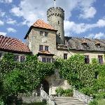 entrance to Schloss Hohenstein