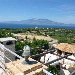 view from room towards Kafalonia