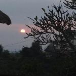 sunrise from villa