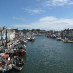 Weymouth old harbour, just at the back of the Harbour View