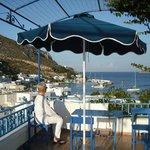 Pandeli Harbour from the balcony of Studio 6