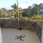 Vu de la terrasse