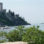 Blick auf die Burg von Malcesine