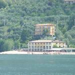 Hotel Europa aus Seesicht
