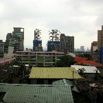 View of Xinmen Elementary from 8th floor Balcony