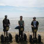 Segways on the beach!