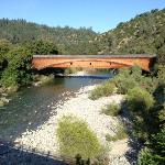 Covered Bridge taken from highway