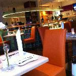 Restaurant Stocker Foto