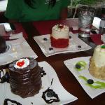 dessert heaven - our final stop at Dessert Diva