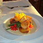 Scallops at Joes- Lovely