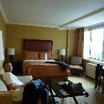 La habitación era muy amplia!!