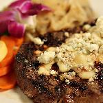 Certified Angus Sirloin with Gorgonzola Crumble