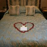 Petal messages between us and the housekeeping team!