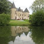 The initial view of the chateau