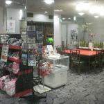 lobby and mini shop