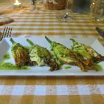 Stuff Zucchini Flowers - Gorgeous and very appetizing