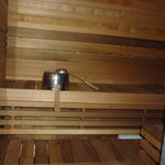 Sauna in our room