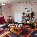 Sitting room Lough Lannagh Cottage