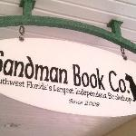 Sandman Books Walkway Sign
