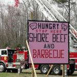 Supporting the Local Volunteer Fireman here at Shore Beef & BBQ