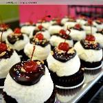 Hot Fudge Sundae Cupcakes