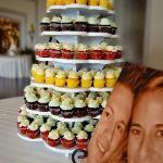 Mini Wedding Cupcakes Tower