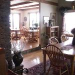 Enjoy breakfast in our spacious dining room or outside decks