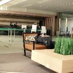 Hotel lobbby & reception area