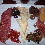 Mama's Antipasto for Two - selection of Italian meats, cheeses, and marinated vegetables $14.99
