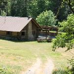 Log Cabin where they filed Grizzly Adams movie