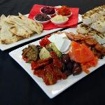 Tapas, dips & Wine deal for 2 - $49