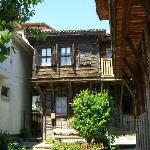Typical old house in the picturesque Old Sozopol