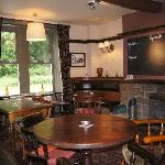 One of a number of sitting and dining rooms